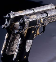 1911. I don't like guns, but this is gorgeous.