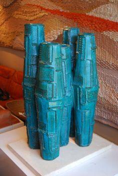 David Cressey; AP Pro Artisan 5-Vessel Sculpture, 1960s.
