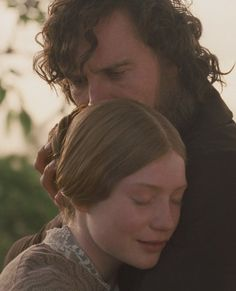 Jane Eyre, 2011 -- Mia Wasikowska and Michael Fassbender as Jane and Mr. Bronte Sisters Books, Jane Eyre 2011, Charlotte Bronte, E Type, About Time Movie, Pride And Prejudice, Michael Fassbender, Music Tv, Best Couple
