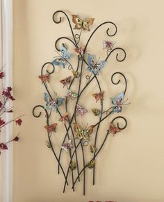 Butterfly Metal Sculpture from Through the Country Door®