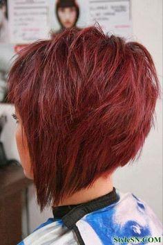 Choppy asymmetrical style