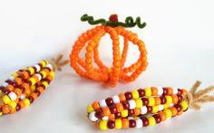 Herbst basteln mit Kindern: Lustige Ideen mit Pfeifenreinigern