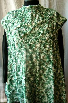 Knitted sleeveless tunic / dress / sweater with by HandyFamily, €4.50