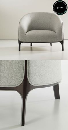 Catherine armchair by Noé Duchaufour-Lawrance for Bernhardt Design. (lovely, but likely too modern for our place)