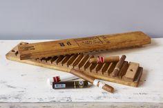 Found Wooden Cigar Mold