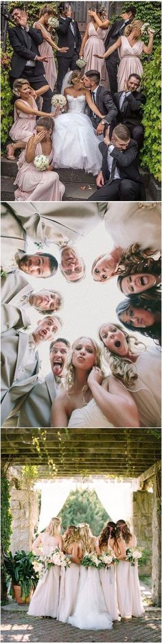 funny wedding photo ideas with bridal party
