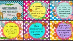 Trabajamos con adivianzas de animales, conciencia lingüística Writing Art, Math For Kids, Learning Spanish, Craft Tutorials, Frame, Projects, Crafts, Dani, School