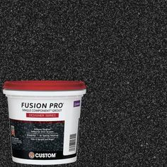 Custom Building Products Fusion Pro #550 Starlight 1 Qt. Designer Series Grout-FPD550QT-4 - The Home Depot