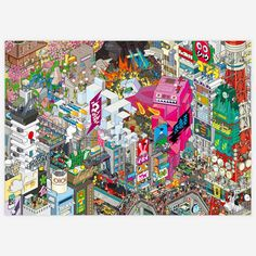 Fab.com   Tokyo Poster 47x33