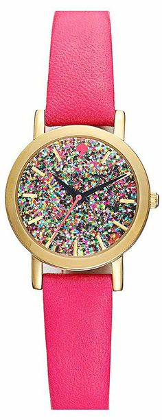 Kate Spade glitter watch ~ celebrating New Years by posting glitter shoes and accessories ~ be sure to come back for more :) Pin more if you have something!