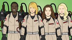 All female ghostbusters