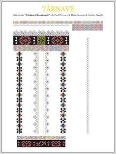 Semne Cusute: model de camasa din TRANSILVANIA, Tarnave Folk Embroidery, Embroidery Stitches, Embroidery Patterns, Cross Stitch Patterns, Wedding Album Design, Palestinian Embroidery, Pattern Art, Beading Patterns, Pixel Art