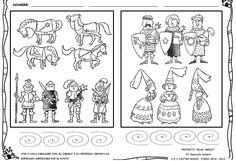 ¡Y seguimos con nuestro proyecto medieval!      Además de las reinas y princesas, otro de los personajes que más les está gustando a los p...