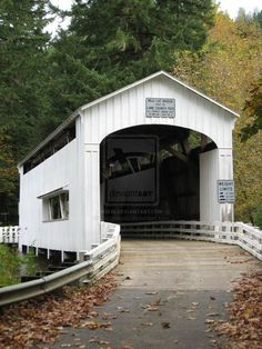 DeviantArt gallery Jacquilyn N. Yeend Photography Covered Bridge Florence, Oregon: October 2011 DeviantArt gallery Jacquilyn N. Old Bridges, Portland, Oregon Travel, Old Barns, Belleza Natural, Covered Bridges, Pathways, Architecture, Beautiful Landscapes