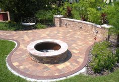 Patio Designs With Fire Pit | Home Design Ideas