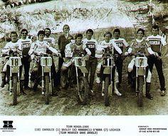 Chandler, Bailey, Hanna, O'Mara, Lechien The Honda Dream Team (USA) Winner of the Motocross of Nations 1984.