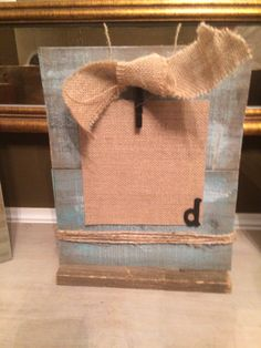 Your place to buy and sell all things handmade, vintage, and supplies Chalk Paint Techniques, Great Teacher Gifts, Burlap Bows, Paper Clip, Picture Frames, Reusable Tote Bags, Monogram, Handmade, Stuff To Buy