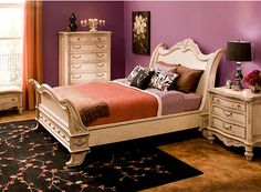 Empire 4Pcqueen Bedroom Set  Bedroom Sets  Raymour And Entrancing Raymour And Flanigan Bedroom Sets 2018