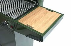 """Accessory Bamboo Cutting Board by Minden. $19.79. Fits the Master and Master II Grills by Minden.. Extendes Durability and Longevity. Replaces the plastic cutting board included with the Minden Master/Master II Grill.. 3/4"""" Thick. 94922 89453 3 Features: -High-density bamboo.-Outlasts hardwood boards.-Removable and dishwasher-safe."""