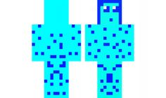 minecraft skin blue-and-other-blue