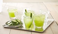 Cucumber Ginger Lime Cocktail