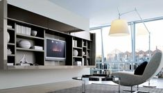 DAYORIS CUSTOM | contemporary built-ins home Miami, modern built-ins south Florida, solid wood built-ins units