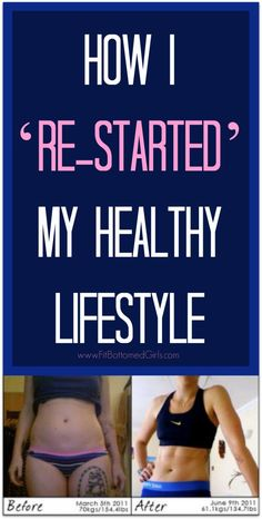 How one FBG reader re-started her healthy lifestyle. | Fit Bottomed Girls