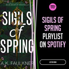 Listen to the Sigils of Spring playlist on Spotify Fantasy Series, Spring, Books, Yann Tiersen, Libros, Book, Book Illustrations, Libri