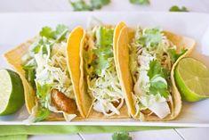 Simple Fish Tacos - A Zesty Bite