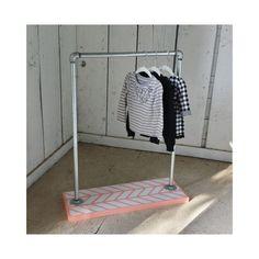 Modern Kids Clothes Rack - Children's Clothing Rack - Gender Neutral - Hipster Kids - Kids Room on Etsy, $295.00