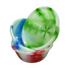 Thai Dye Design 40cm Circular Round Plastic Washing Up Bowl Basin Kitchen