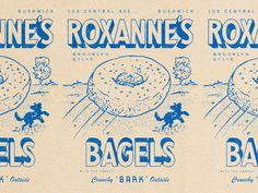 Roxanne's Deli designed by Vincent Conti. Connect with them on Dribbble; the global community for designers and creative professionals. Packaging Design, Branding Design, Logo Design, Badge Design, Graphic Design Posters, Graphic Design Inspiration, Lettering, Typography Design, Vintage Labels