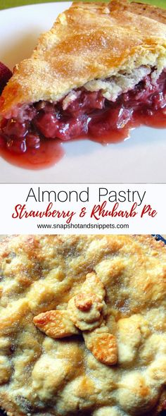 ThisamazingAlmond Strawberry Rhubarb Pie is a tasty explosion with a melt in the mouth Almond pastry. Perfectfor Rhubarb season. If you want to grow ...