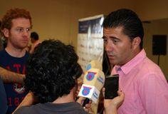 Primera comparecencia del nuevo director deportivo ante los medios de comunicación ( UCAM )