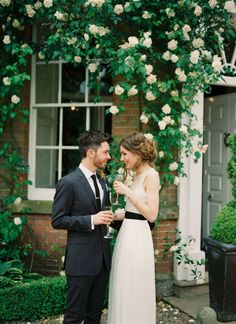 Inspired by This English Countryside Wedding by CKB Photography - Inspired By This