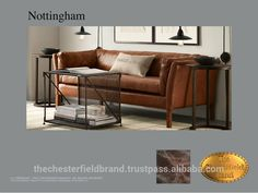 Check out this product on Alibaba.com APP Chesterfield Nottingham Brown Two Seater Sofa