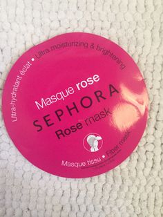 Review Maschere in tessuto Sephora