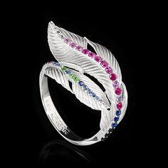 Кольцо Colibri - купить в Mousson Atelier