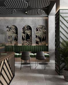 Coffee Shop Interior Design, Coffee Shop Design, Bar Interior, Restaurant Interior Design, Commercial Interior Design, Cafe Design, Interior Design Inspiration, Interior Design Themes, Design Design