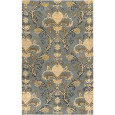 This Destiny Collection earth tone rug is manufactured by Rizzy Rugs. Old world charm with a touch of contemporary flair, the distinctive rugs of the Destiny collection make the ideal complement to any traditional or transitional interior. Grey And Beige, Gray, Gold Rug, Hand Tufted Rugs, Old World Charm, Joss And Main, Grey Rugs, Throw Rugs, Textures Patterns