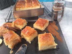 Μυστικά για τέλειο γαλακτομπούρεκο | Argiro.gr Greek Sweets, Greek Desserts, Greek Recipes, Puff Pastry Desserts, Custard Filling, Greek Cooking, Food Categories, Love Cake, Cornbread