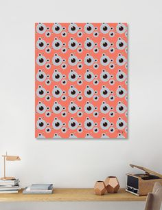 Discover «Fish eye orange», Limited Edition Canvas Print by Beata Wielgos / BeaYourself - From $59 - Curioos