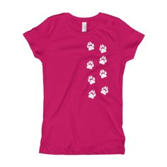 Simba The Dog - Kids T-Shirt Raspberry