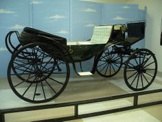 Horse of a Different Color Carriage used in the Wizard of Oz by Krista76, via Flickr Also carriage used by Abraham Lincoln