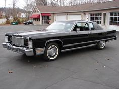 1976 Lincoln Continental Town Coupe. I think it's time to get her back on the road.