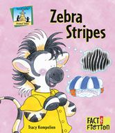 Zebra Stripes #homeschool #examville #earlyed #teachingrescources #kindergarden #firstgrade #1stgrade #earlylearning #2ndgrade #secondgrade #animals #picturebooks