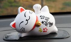 Find More Ornaments Information about Money cat Sleep lazy cat Solar energy Car decoration sb 048,High Quality car decoration strip,China car decoration christmas Suppliers, Cheap car decoration items from PaiKoo Company on Aliexpress.com