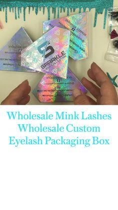 Luxury Packaging, Box Packaging, Beauty Box, Eyelash Extensions, Mink, Eyelashes, Lashes, Lash Extensions