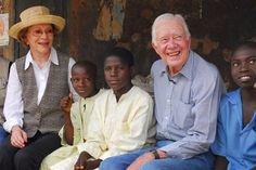President and Mrs. Jimmy Carter. Great humanitarians. http://www.cartercenter.org/news/photos/tc-jimmy-rosalynn-carter.html