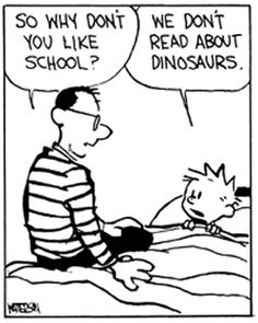 Hobbes Deep - So why don't you like school?